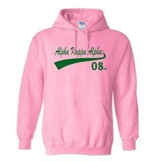 Alpha Kappa Alpha Tail Hooded Sweatshirt