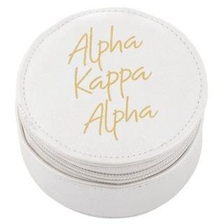 Alpha Kappa Alpha Travel Round Case
