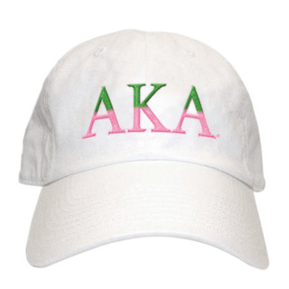 Alpha Kappa Alpha Two Tone Letter Hat