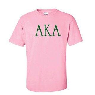 Alpha Kappa Alpha University Greek T-Shirts