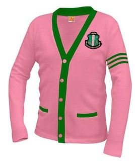 Alpha Kappa Alpha Varsity Cardigan Sweater