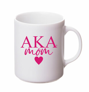 Alpha Kappa Alpha White Personalized Coffee Mug