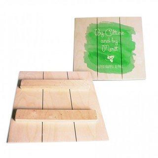 Alpha Kappa Alpha Wood Plank Signs