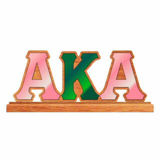 Alpha Kappa Alpha Wooden Letters
