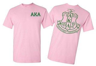 Alpha Kappa Alpha World Famous Crest - Shield Tee