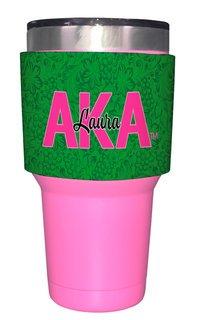 Alpha Kappa Alpha Yeti Rambler Bottle Insulator (Yeti not included)