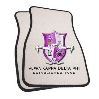alpha Kappa Delta Phi Car Mats