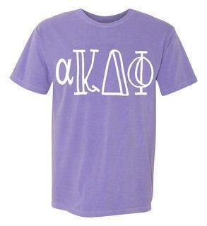alpha Kappa Delta Phi Comfort Colors Heavyweight Design T-Shirt