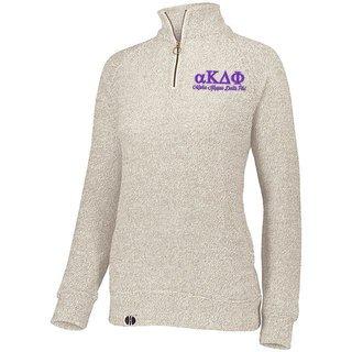Alpha Kappa Delta Phi Cuddly 1/4 Zip Pullover