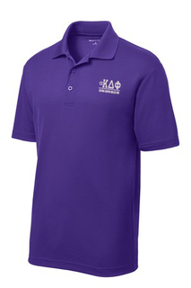 $30 World Famous alpha Kappa Delta Phi Greek PosiCharge Polo