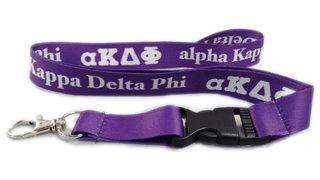 alpha Kappa Delta Phi Lanyard