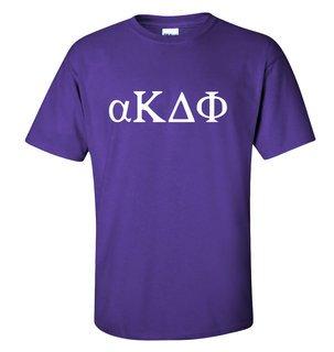 alpha Kappa Delta Phi Letter T-Shirt