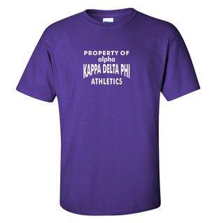 alpha Kappa Delta Phi Property Of T-Shirt