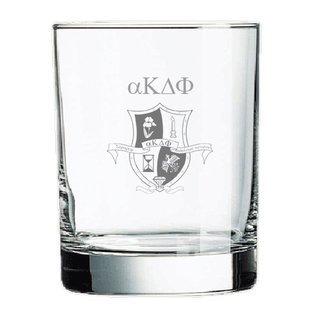 alpha Kappa Delta Phi Rocks Glass