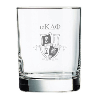 alpha Kappa Delta Phi Rocks Glass
