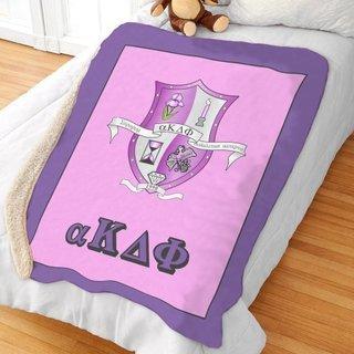 alpha Kappa Delta Phi Sherpa Lap Blanket