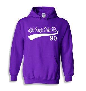alpha Kappa Delta Phi Tail Hooded Sweatshirts