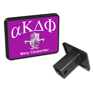 alpha Kappa Delta Phi Trailer Hitch Covers