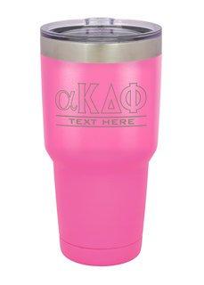 alpha Kappa Delta Phi Vacuum Insulated Tumbler