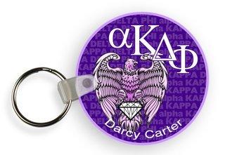 Alpha Kappa Delta Phi Mascot Keychain