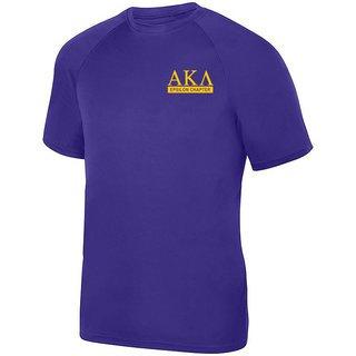 Alpha Kappa Lambda- $15 World Famous Dry Fit Wicking Tee