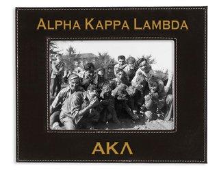 "Alpha Kappa Lambda 4"" x 6"" Leatherette Picture Frame"