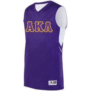 DISCOUNT-Alpha Kappa Lambda Alley-Oop Basketball Jersey