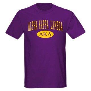 Alpha Kappa Lambda arch tee