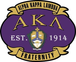 Alpha Kappa Lambda Banner Crest - Shield Decal
