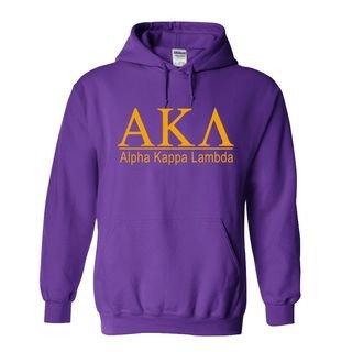 Alpha Kappa Lambda bar Hoodie