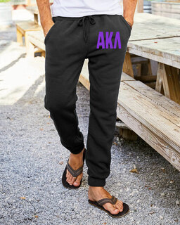 Alpha Kappa Lambda Big Letter Sweatpants