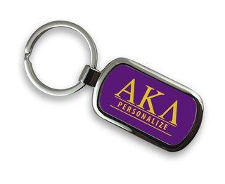 Alpha Kappa Lambda Chrome Custom Keychain