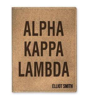 Alpha Kappa Lambda Cork Portfolio with Notepad