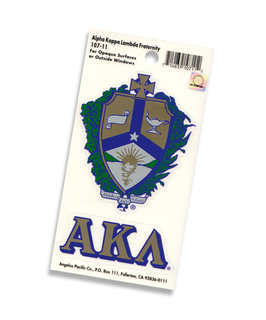 Alpha Kappa Lambda Crest - Shield Decal