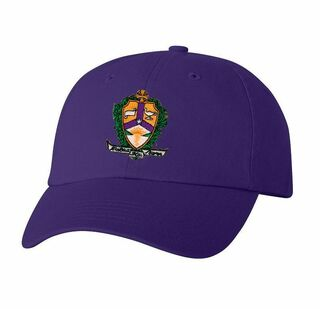 DISCOUNT-Alpha Kappa Lambda Crest - Shield Hat