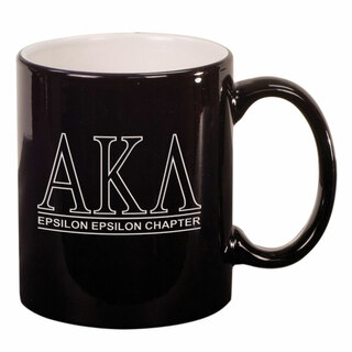 Alpha Kappa Lambda Custom Ceramic Coffee Mug