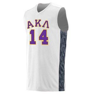 Alpha Kappa Lambda Fast Break Game Basketball Jersey