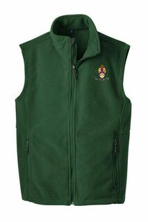Alpha Kappa Lambda Fleece Crest - Shield Vest