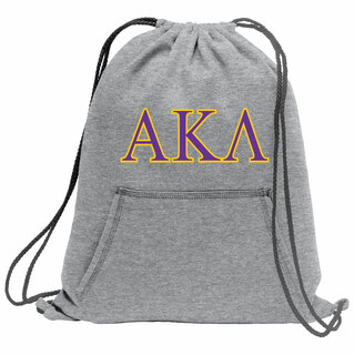 Alpha Kappa Lambda Fleece Sweatshirt Cinch Pack
