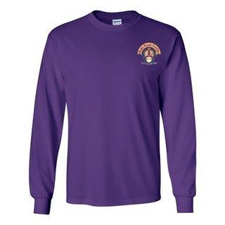 DISCOUNT-Alpha Kappa Lambda Fraternity Crest - Shield Longsleeve Tee
