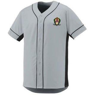 DISCOUNT-Alpha Kappa Lambda Fraternity Crest - Shield Slugger Baseball Jersey