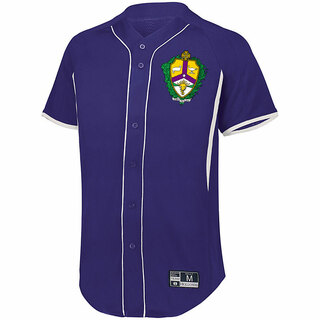 Alpha Kappa Lambda Game 7 Full-Button Baseball Jersey