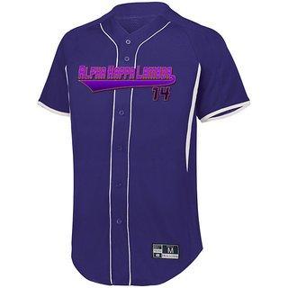 Alpha Kappa Lambda Game 7 Full-Button Baseball Jersey