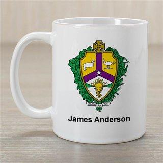Alpha Kappa Lambda Greek Crest Coffee Mug - Personalized!
