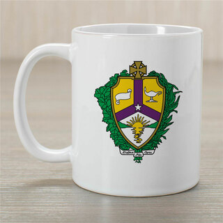 Alpha Kappa Lambda Greek Crest Coffee Mug