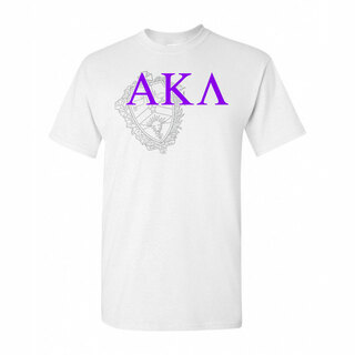 Alpha Kappa Lambda Greek Crest - Shield T-Shirt