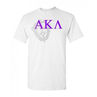 Alpha Kappa Lambda Greek Crest - Shield T-Shirt