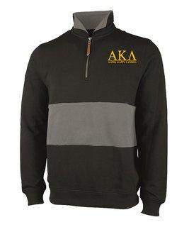 Alpha Kappa Lambda Greek Letter Quad Pullover