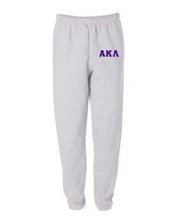 Alpha Kappa Lambda Greek Lettered Thigh Sweatpants