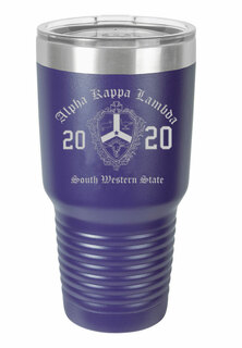 Alpha Kappa Lambda Insulated Tumbler